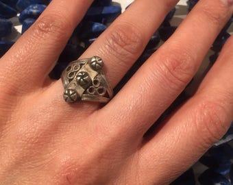 Size 10  vintage Ring Handmade.Ethnic ring Men Ring women Ring NJR0130