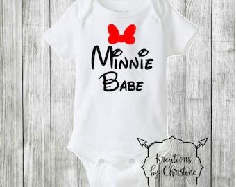 SALE - Minnie Babe Bodysuit
