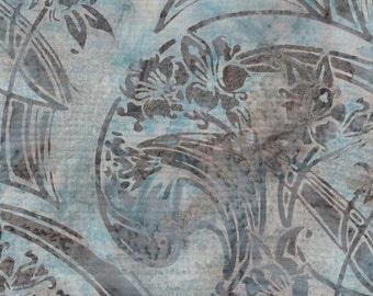 Hoffman batik fabric Spa