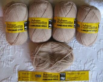 German Camel Hair/Wool Yarn