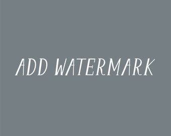 Watermark for Premade Logo Design