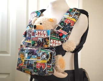 Baby carrier, Star Wars, Comic book Covers, baby carrier cover, bag, drool pads, for Ergo, ergo 360, tula, Beco, Boba