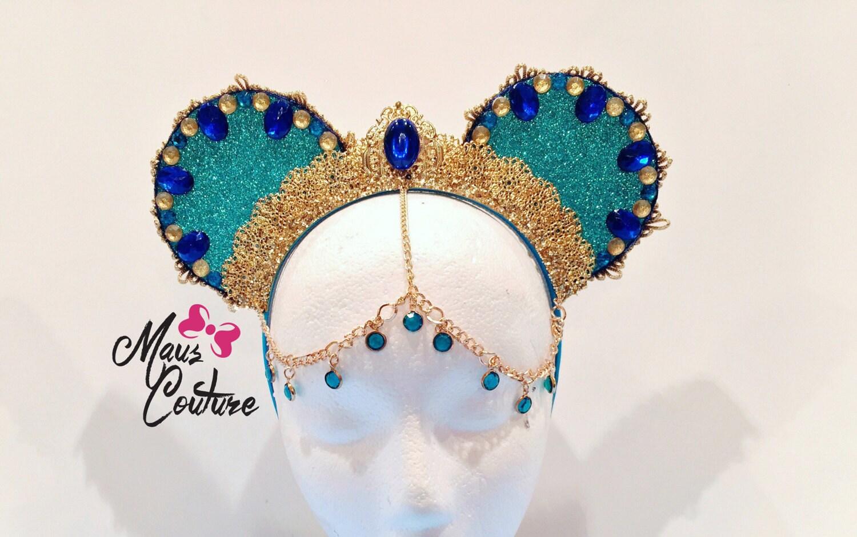 Arabian princess minnie ears - Princesse minnie ...