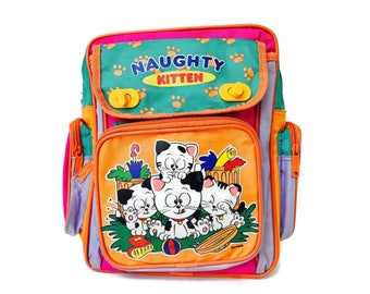 90's Naughty Kitty Backpack