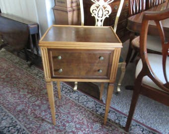 JOHN WHIDDICOMB NIGHTSTAND Grand Rapids Michigan