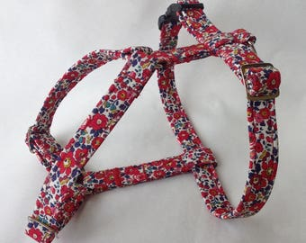 Handmade Liberty Fabric Dog Harness