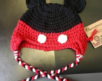 Child's Mouse Hat