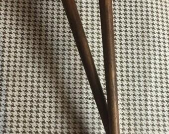 Black Walnut Cooking/Serving Size Chopsticks