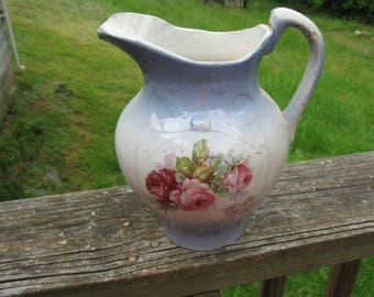 Sweet Victorian Pitcher For Wash Bowl