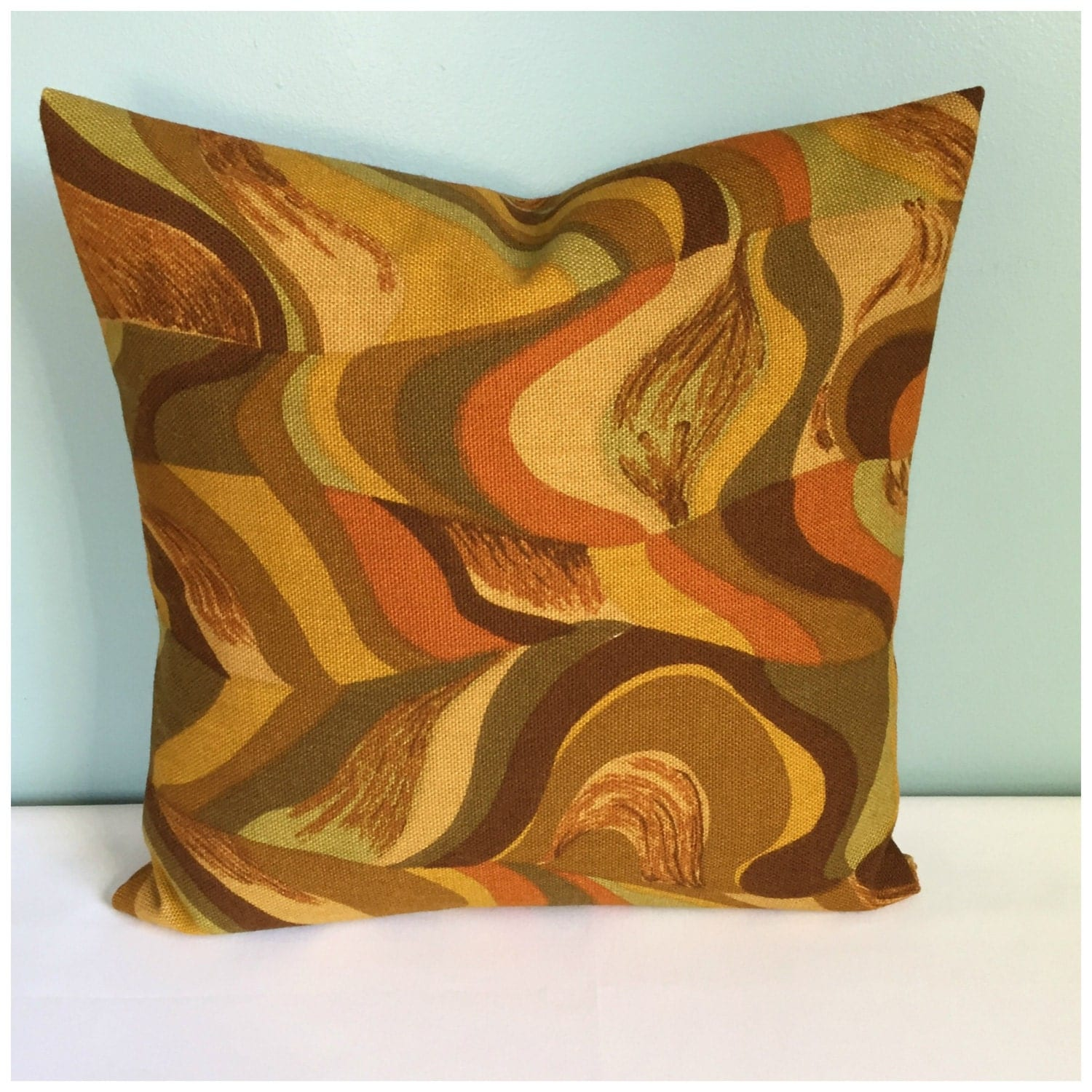 Mid Century Modern Pillow Cover Envelope Pillow Cover Retro