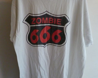 "White Zombie-""666"" promo t.shirt-size XL-Rob Zombie"