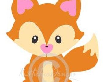 Fox Svg, Zero Fox Svg, Dxf For Silhouette, Cutting File, Plotter File