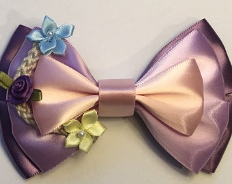 Inspired Rapunzel from Tangled Hair Bow