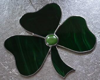 Shamrock - Stained Glass Suncatcher