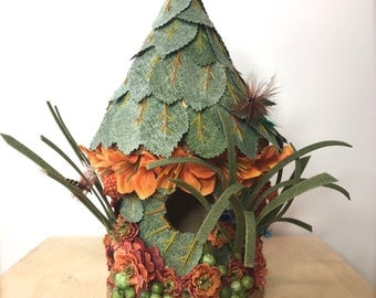 Tiny Enchanted Fairy Garden Doll House: Fisherman or Woman Fairy House - Fairy House #9