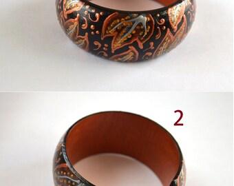 Gift|for|her Boho bracelet wood folk handmade Jewelry ethnic brown bracelet Art Christmas gift black bracelet eco friendly jewelry for|her