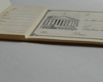 Vintage Promissary Notes/IOUs/Blank Checks