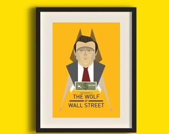 Wolf of Wall Street Movie Art Print