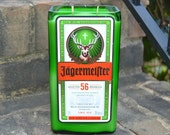 CUSTOM REQUEST - Jagermeister liquor bottle candles made with soy wax (Qty. 25)