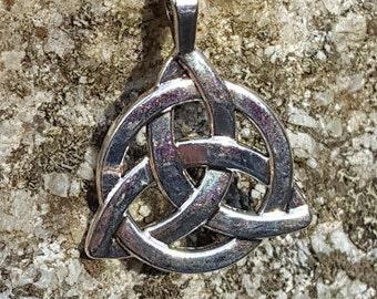Triquetra Necklace / Charm Necklace