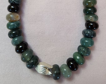 MOSS agate and Onyx