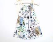 Baby Summer Cotton Dress - Size 6 to 12 months - French baby girl dress - A-line dress - Baby summer dress - Baby sun dress - Beach dress