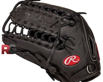 FREE Glove Rub Conditioner Left Hand Throw Rawlings GG Gamer 12 three forths inch Trapper Baseball Glove great for Pitcher or Outfielders