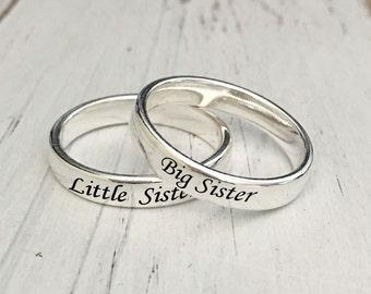 Sister Ring  Etsy. Cheap Halo Engagement Wedding Rings. Lover Rings. Year Rings. Twist Tiffany Engagement Rings. Chocolate Rings. Irish Mens Wedding Wedding Rings. Imran Name Rings. Month Rings