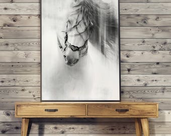 Classic horse POSTER - print image without frame
