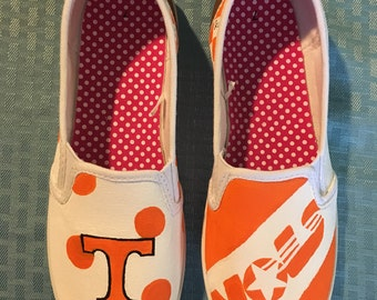Tennessee Vol Adult or Children Shoes