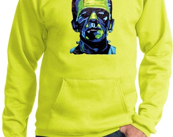 Men's Frankenstein Face Hoody 20719NBT2-PC90H