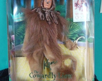 Mattel Ken as Cowardly Lion from Wizard of Oz doll Hollywood Legend Collection