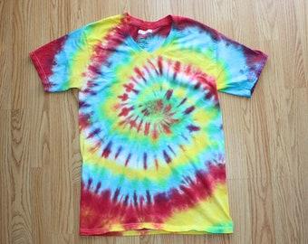 CLEARANCE Tie Dye V Neck T Shirt