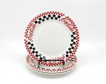 Coca Cola Plates, Coca Cola, Coca Cola Kitchen, Vintage Coca Cola, Coke Cola, Dessert Plates, Appetizer Plates, Small Plates, Plates