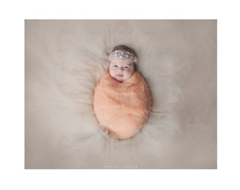 Newborn photo prop wool fluff / newborn baby photography wool / natural wool stuffer / basket filler / layering blanket / newborn wrap