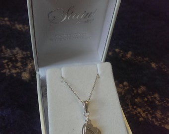 Mum friends forever, sterling silver necklace