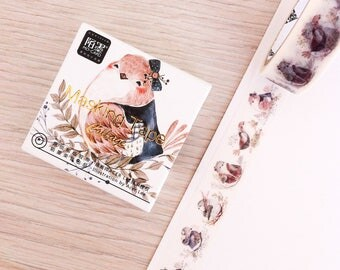 Cute washi tape - collage - birds | Cute Stationery