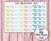 63 Freezing Cold! Stickers F-44 - Perfect for Erin Condren Planner Stickers / Life Planners / Journals / Stickers.