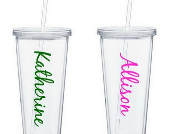 Personalized Acrylic Double Wall Tumblers, 32oz