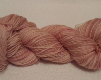 OOAK Hand dyed Merino sock yarn 100g