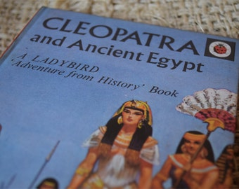Cleopatra and Ancient Egypt. A Vintage Ladybird Book. Series 561