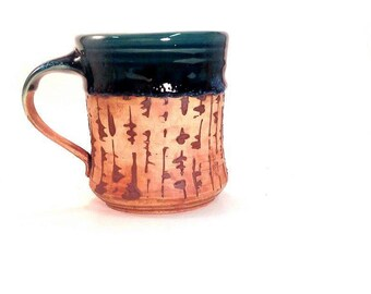 Ceramic Mug, Pottery Mug, Handmade Earth Mug
