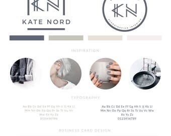 Minimalist Logo Design, Custom Logo Design,  Branding kit Logo Design Premade Branding Package, stamp,  Photography Logo, watermark