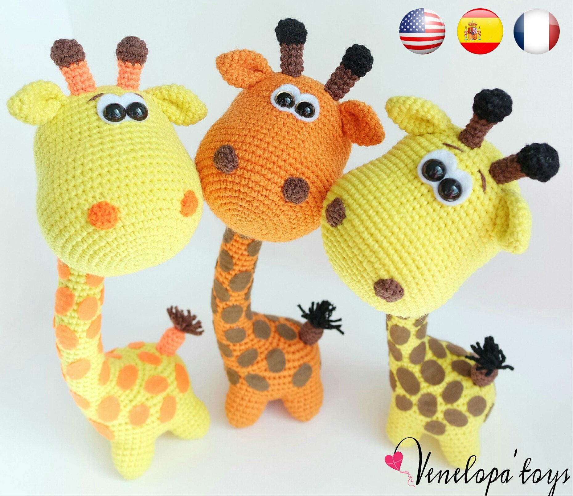 Etsy Amigurumi Patrones : Pattern Funny Giraffe amigurumi crochet crochet