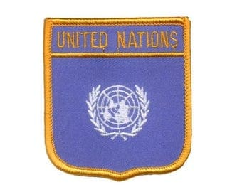 United Nations Patch (Iron on)