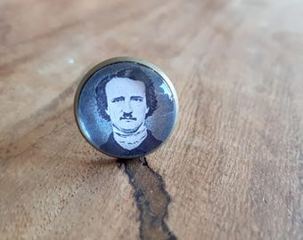 Edgar Allan Poe - Adjustable Ring