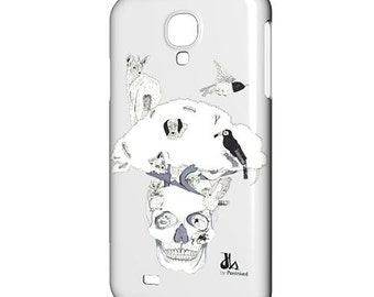 Samsung Galaxy Covers. S7, S6, S5, Phone Cases, Phone Covers. Handmade gifts, Handmade items, Handmade ideas. Skull, Animals, Birds Print