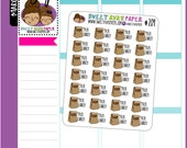 Lunch Planner Stickers | Brown Bag Planner Stickers | Pack Lunch Planner Stickers | Hand Drawn Planner Stickers | 204