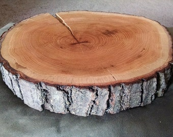 Large Cake Stand, Wedding Cake Stand, Wood Cake Stand, Live Edge Round Slice, Rustic Centerpiece, Wedding Cake Stand, Maple Live Edge Slab