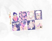 April in Portland Full Boxes - Matte or Glossy Erin Condren Planner Stickers -